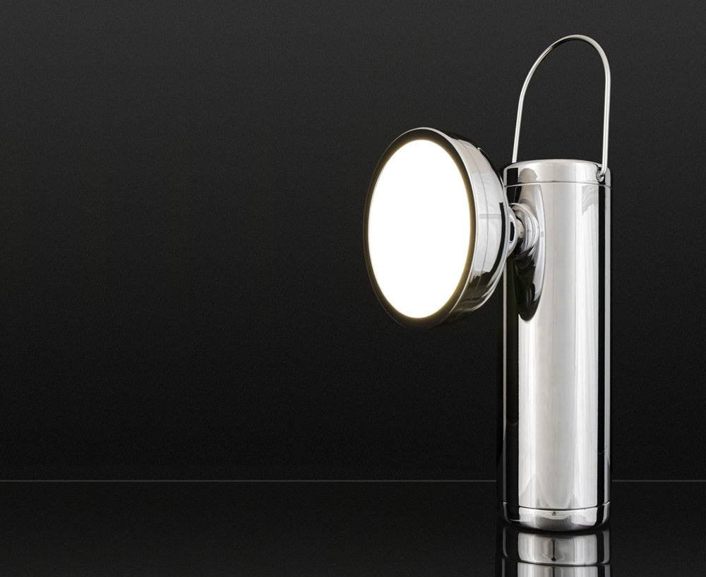 M2 Lamp Limited Edition - Chrome