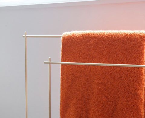 Industrial Marblelous Blanket / Clothes Rack