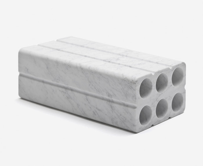 Marblelous Brique in Carrara Marble