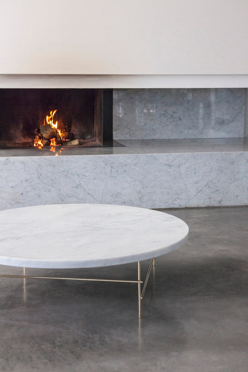 Round Marble Coffee Table | DSHOP