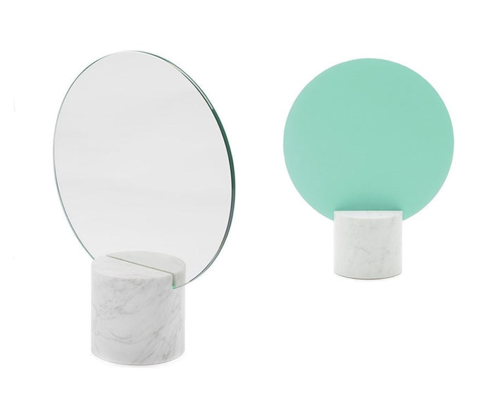Marblelous Sun Mirror - Blue / Green
