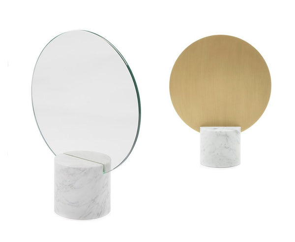 Marblelous Sun Mirror - Brass