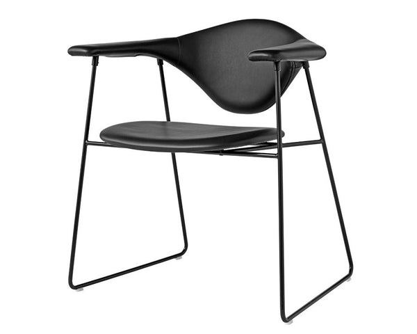 Masculo Dining Chair - Sled Base
