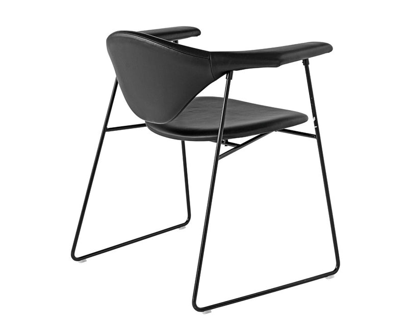 Masculo Dining Chair - Sledge Base | DSHOP