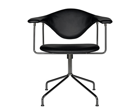 Masculo Dining Chair - Swivel Base