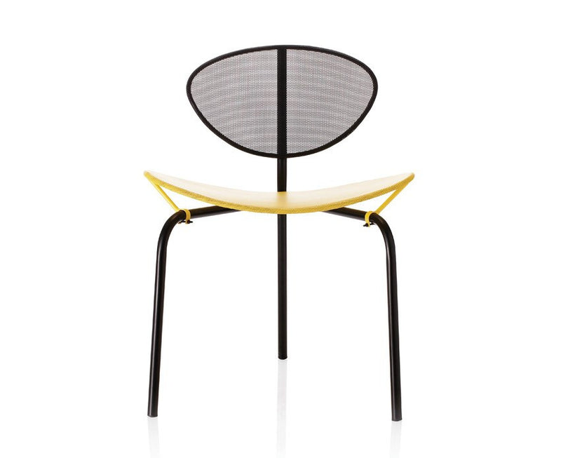 Matégot Nagasaki Chair - Black / Yellow | DSHOP