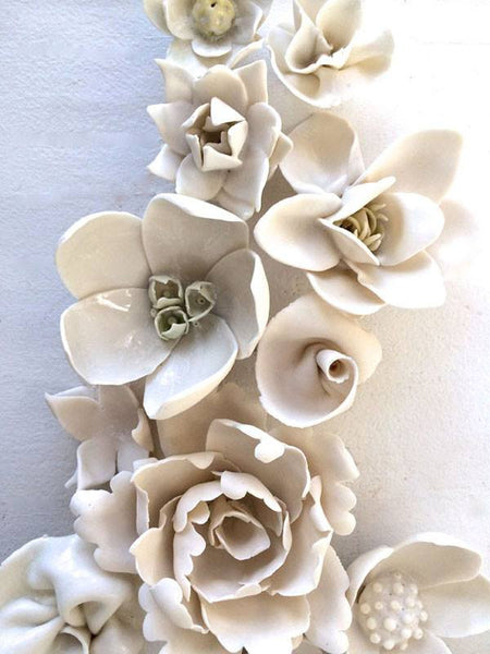 Mixed Porcelain Flowers | Ceramic Art