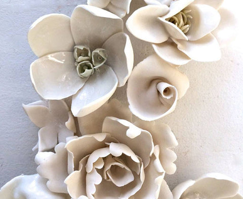 Mixed Porcelain Flowers