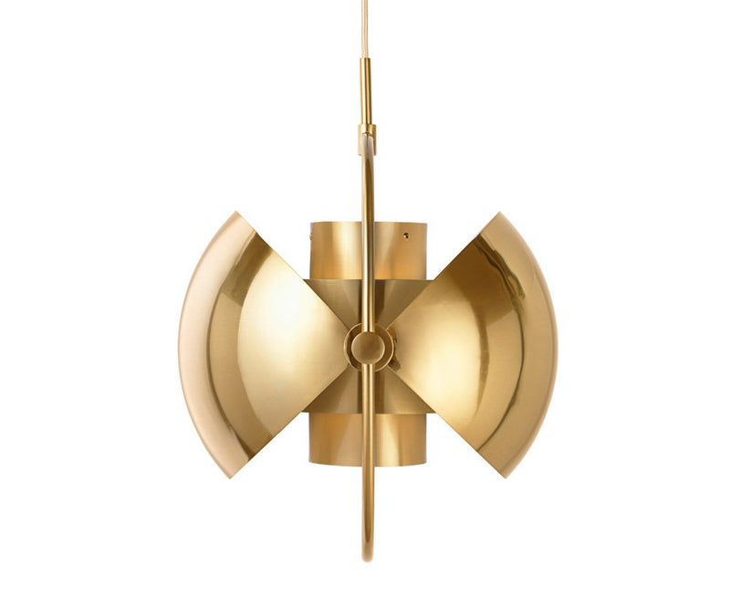 Multi-Lite Pendant - All Brass by Louis Weisdorf | DSHOP