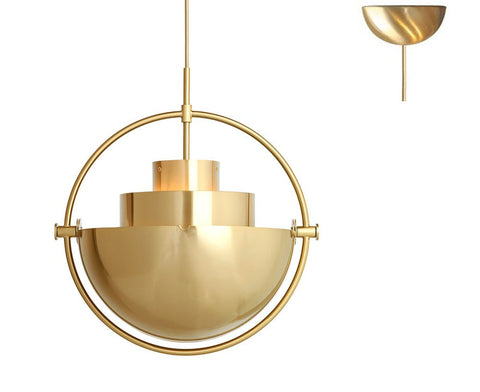 Multi-Light Pendant - Brass