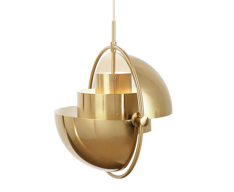 Gubi Multi-Lite Pendant - All Brass | DSHOP