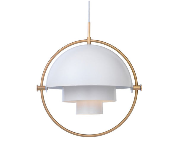 Multi-Light Pendant - Brass/White | DSHOP