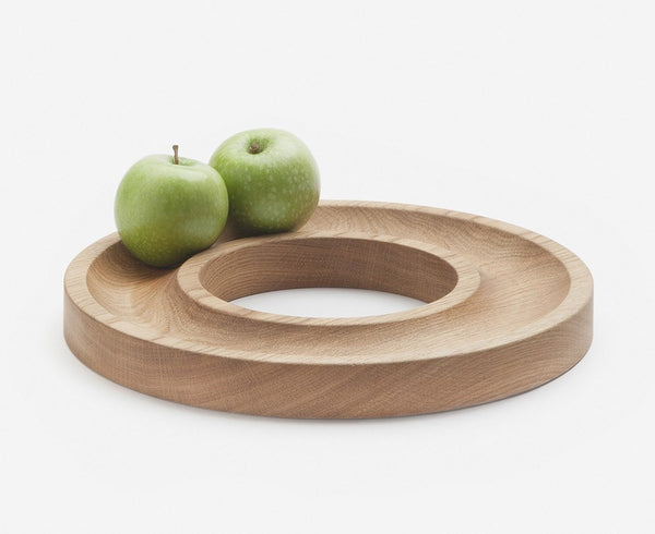 Aparentment Oak Ring Tray