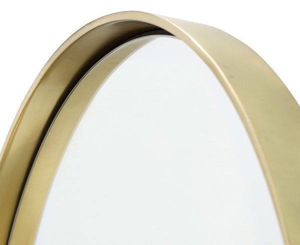 Olie Mirror - Polished Brass