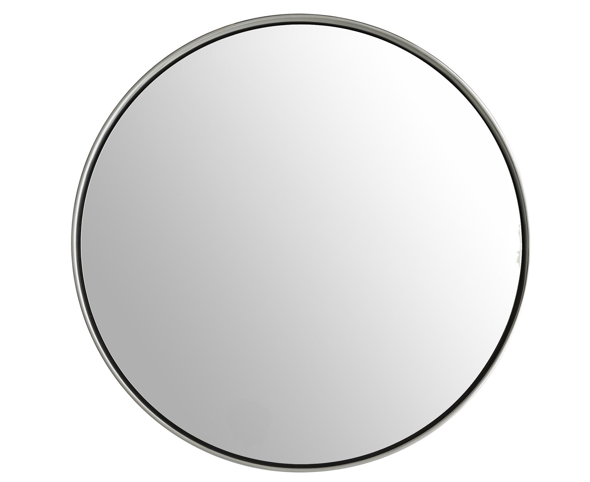 Olie Mirror - Polished Nickel