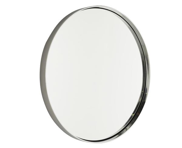 Nickel Olie Round Wall Mirror by Arteriors | DSHOP