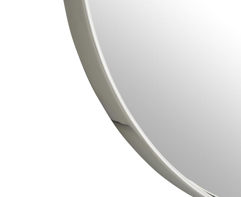 Round Nickel Mirror | DSHOP