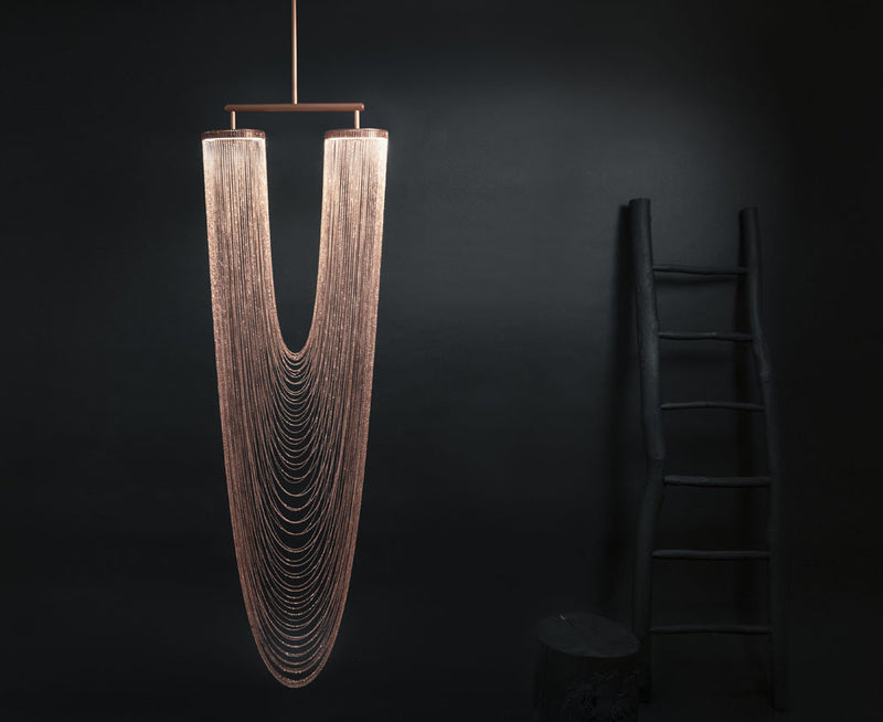 Copper Otero Pendant Light - Large