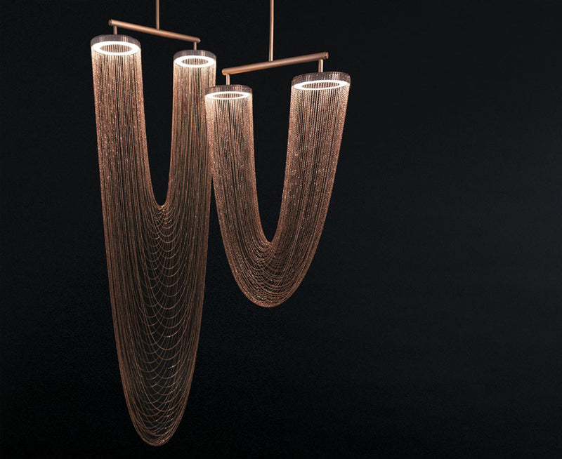 Copper Otero Pendant Lights