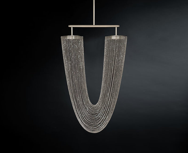 Otero Pendant in Nickel | DSHOP