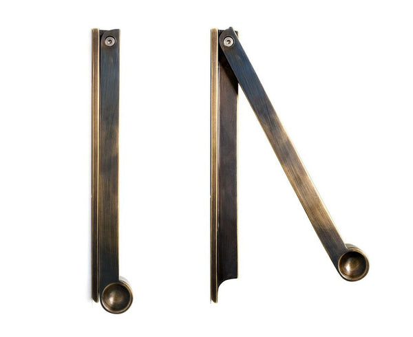Pendulum Door Knocker - Bronze