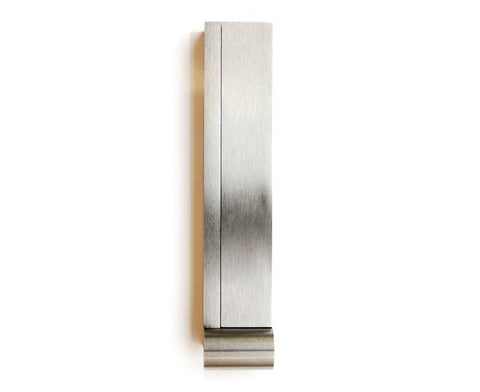 Pendulum Door Knocker - Brushed Stainless Steel
