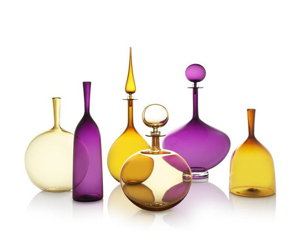 Low Round Petite Decanter