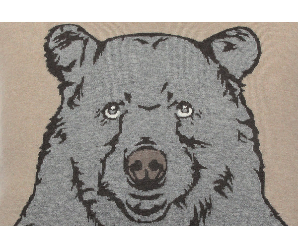 Rani Arabella Bear Cashmere Blend Pillow | DSHOP