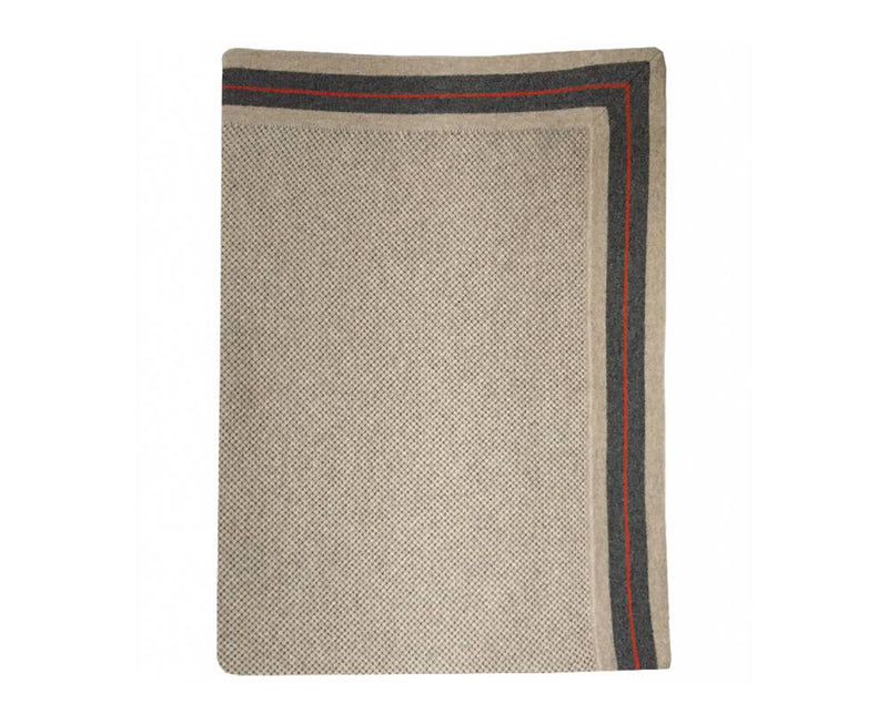 Regatta Cashmere Throw - Grey Beige | DSHOP