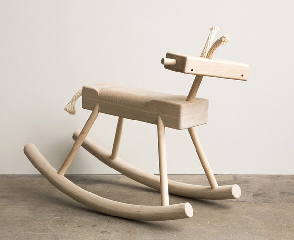 Handcrafted Robot Monkey Rocking Horse