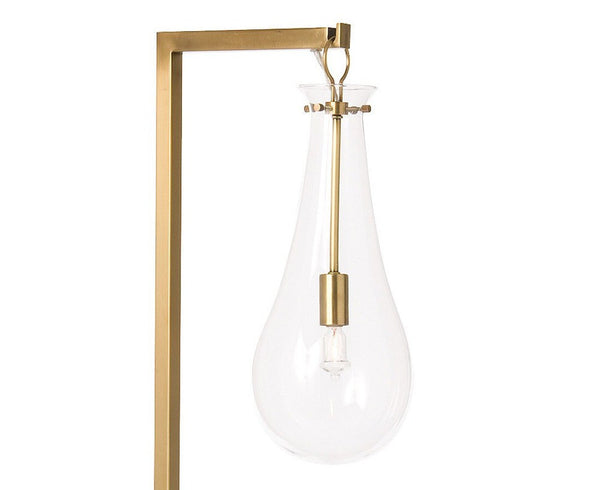 Sabine Floor Lamp - Antique Brass | DSHOP