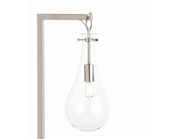 Arteriors Sabine Table Lamp - Polished Nickel