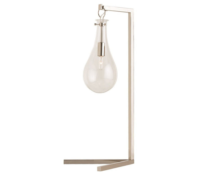 Sabine Table Lamp - Polished Nickel