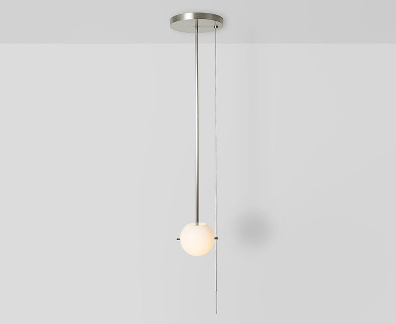 Workstead Signal Pendant Light in Nickel | DSHOP