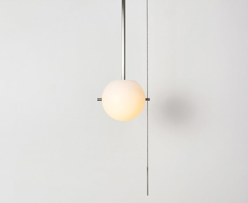 Workstead Signal Pendant Light in Brushed Nickel | DSHOP