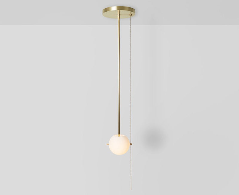 Workstead Signal Pendant Light in Brass | DSHOP