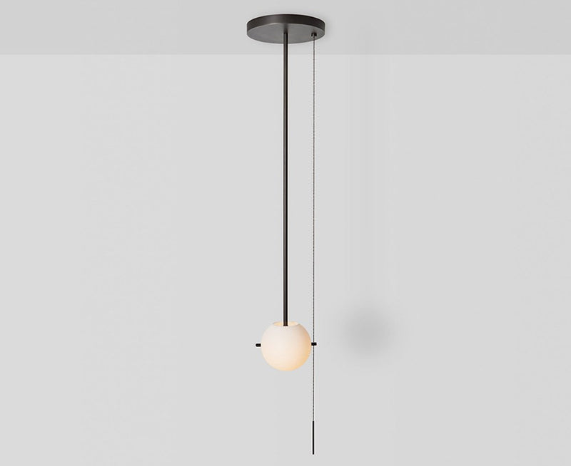 Signal Pendant Light in Hewn Brass by Workstead | DSHOP