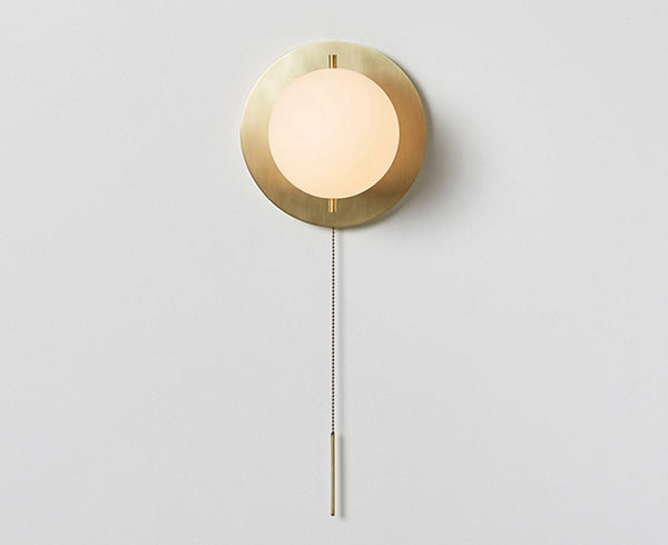 Workstead Signal Sconce in Hewn Brass | DSHOP