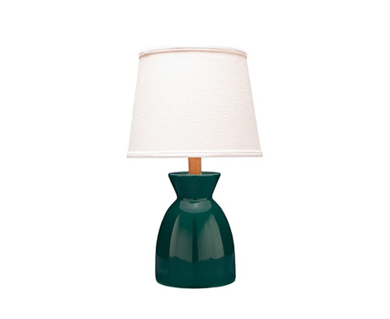 Sullivan Table Lamp Juniper Green Mahogany By Caravan Pacific | DSHOP