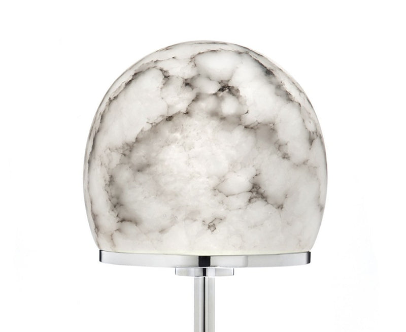 Tartufo Table Lamp in Nickel & Alabaster | DSHOP