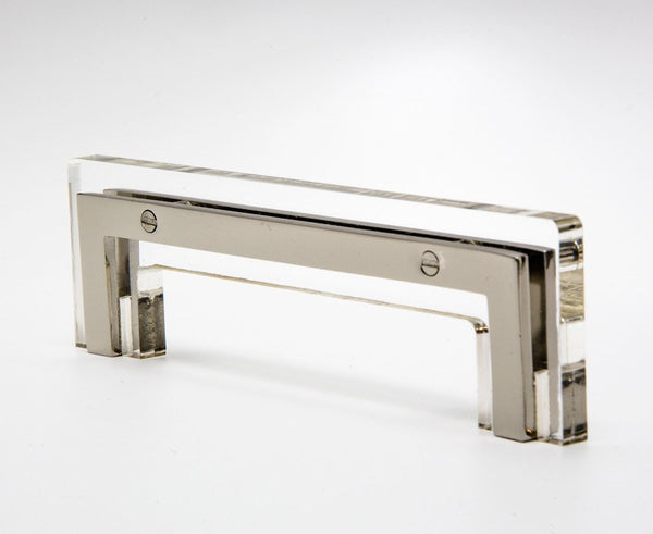 Transparency-01 Handle in Acrylic & Nickel | DSHOP