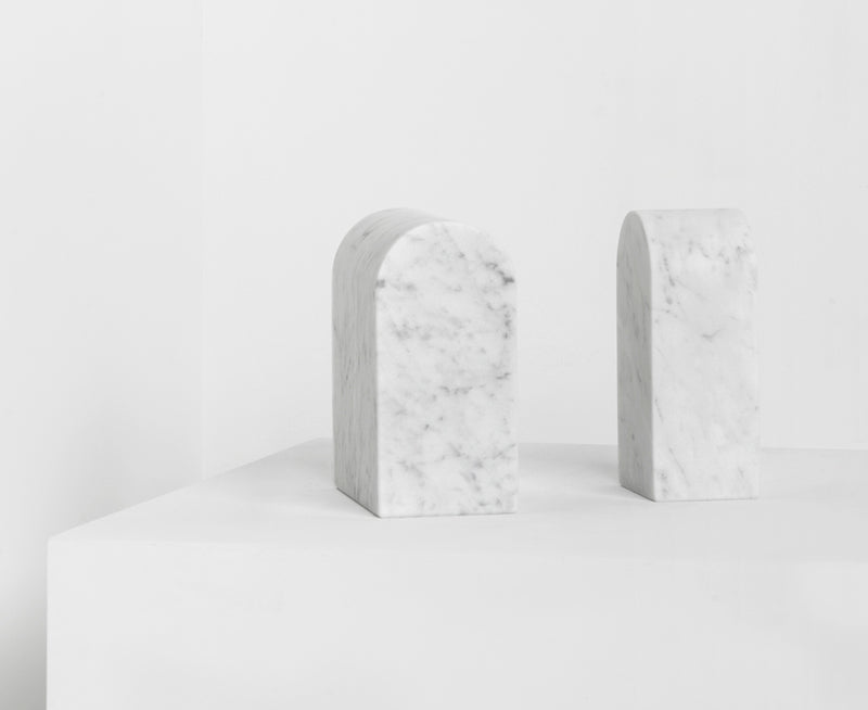 Carrara Triumph Bookends by Aparentment | DSHOP