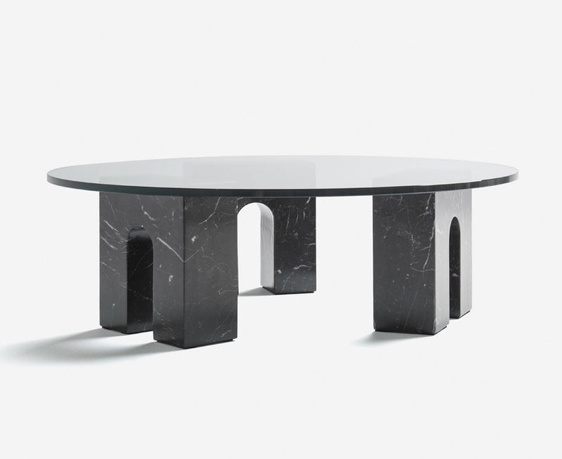 Triumph-T Coffee Table in Black Marble | DSHOP