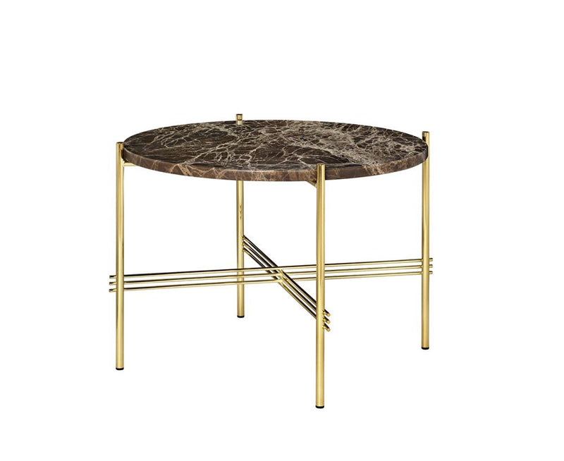 TS Lounge Table Medium - Brown Marble | DSHOP
