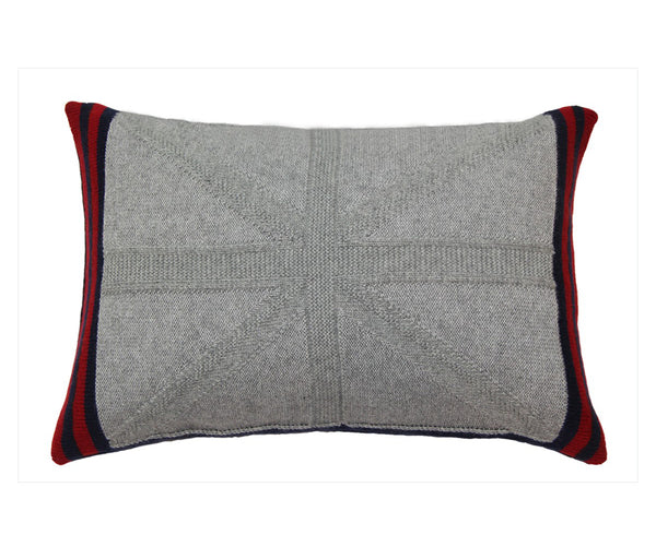 Union Jack Cashmere Pillow