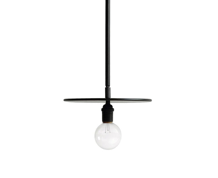 Workstead Black Pendant Light