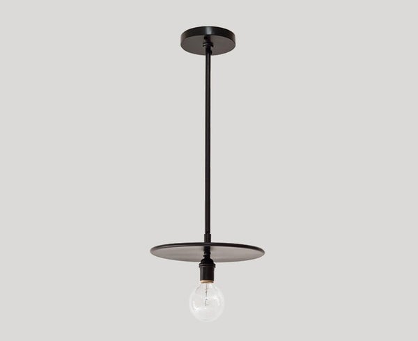 Industrial Black Pendant Light by Workstead | DSHOP