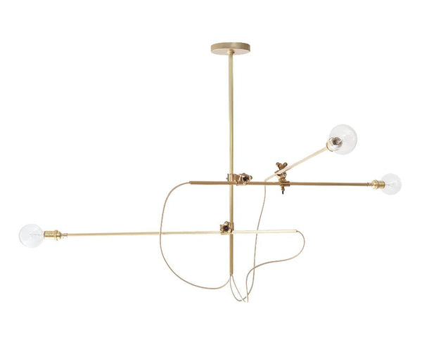 Workstead Brass Chandelier | DSHOP