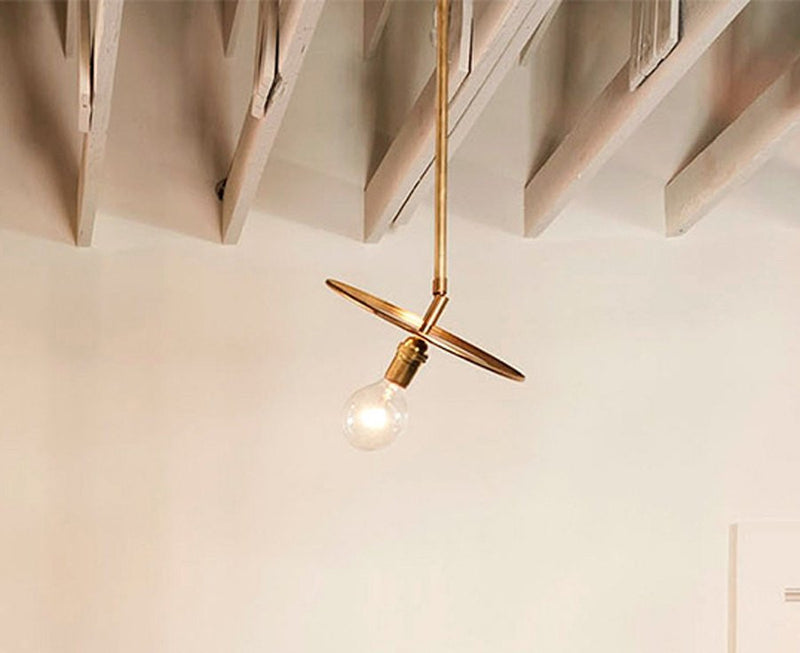 Adjustable Brass Pendant Light by Workstead | DSHOP