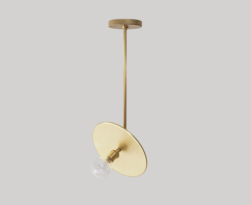 Adjustable Workstead Brass Pendant Light | DSHOP